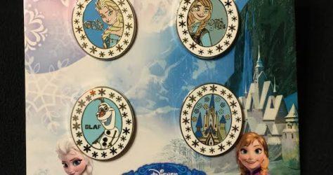 Disney Frozen Pin Set
