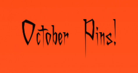 October Pins