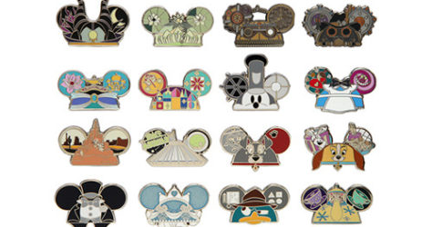 Mystery Pack Ear Hat Pins series 2