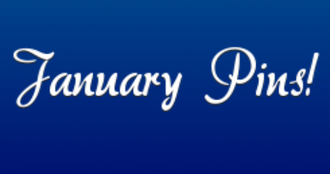 January Disney Pins