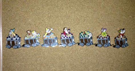 Seven Dwarfs Mine Train Pins