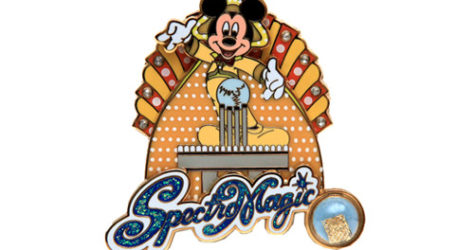 SpectroMagic Mickey Pin