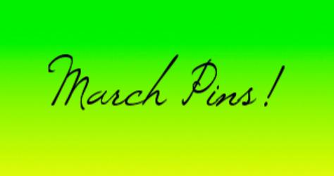 March 2014 Disney Pins