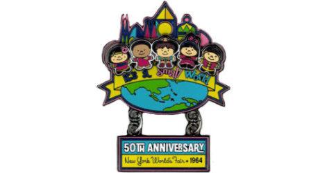 It's a small world 50th anniversary pin