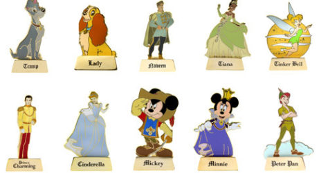 WDW Once Upon a Time Pins