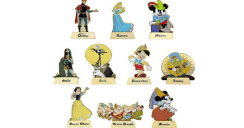Happily Ever After Pin Set