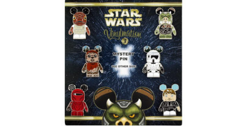 Star Wars Vinylmation Mystery Pin Set Series 3