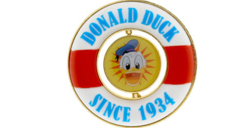 Donald Duck 80th Anniversary Pin