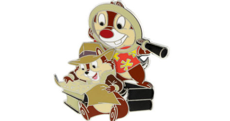 Chip Dale Rescue Rangers Pin