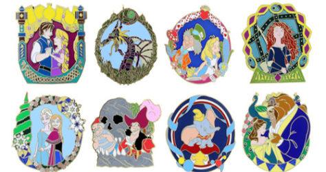 Festival of Fantasy Parade Mystery pin set