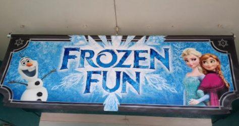 Frozen Fun Sign