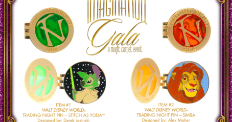 Imagination Gala Second Pin Trading Night RSP