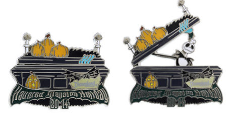 Disneyland NBC Haunted Mansion Pin 2014