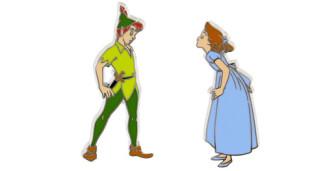Peter Pan Wendy Pins