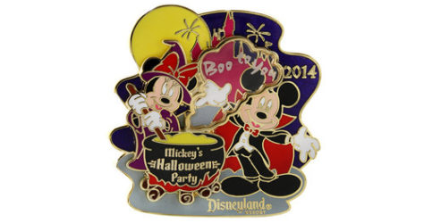 2014 Mickey's Halloween Party Pin
