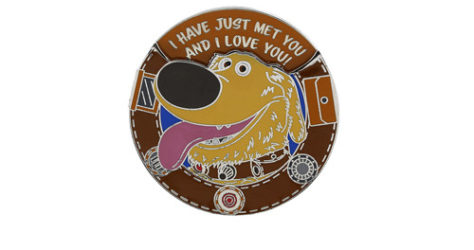 Disney UP Dug Spinner Pin