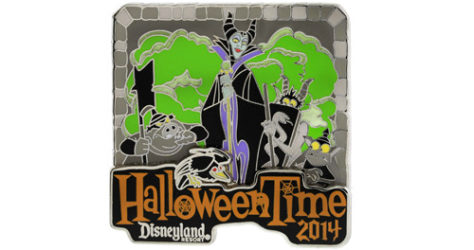 Disneyland Halloweentime 2014 Maleficent Pin