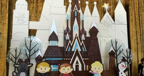Contemporary Resort Gingerbread House 2014