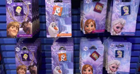 Disney Frozen Gift Cards