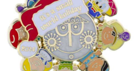 It's a small world 2014 holiday pin