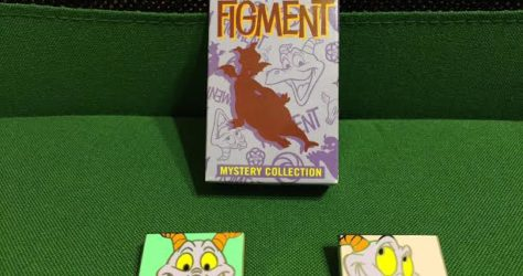 Figment Mystery Pin Collection