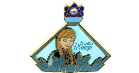 Frozen Anna Perfume Bottle Pin