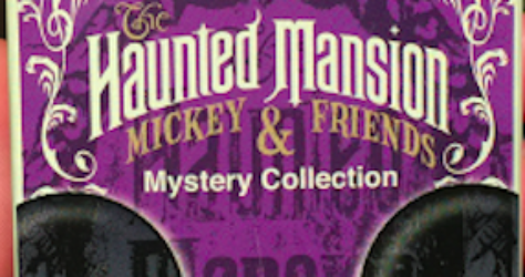 Haunted Mansion Mickey & Friends Pin Set