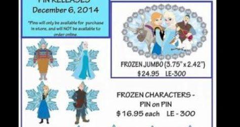 Mickeys of Glendale Frozen Pins
