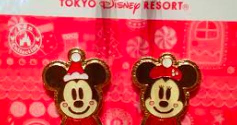 Tokyo Disney Resort Christmas 2014 Pins