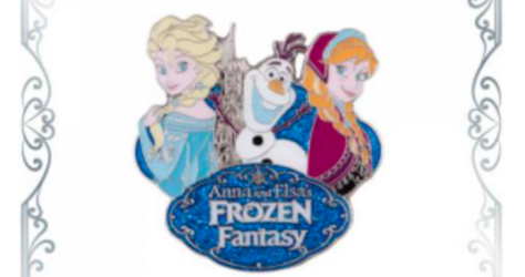 Anna and Elsa's Frozen Fantasy Pin