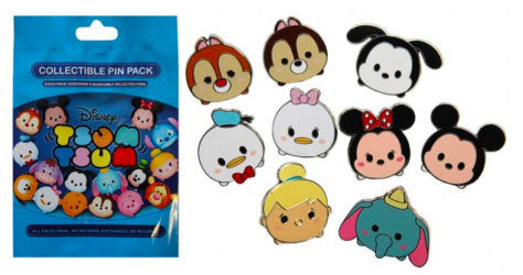 Disney Parks Tsum Tsum Pin Collection