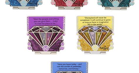 Disneyland 60th Anniversary Pin Series
