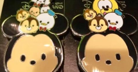 Mickey Mouse and Friends Tsum Tsum Pin