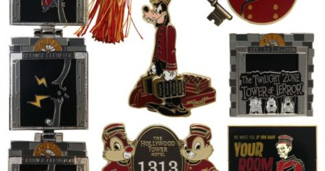 New Hollywood Tower Hotel Pins 2015