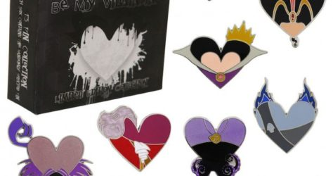 Disney Be My Be My Villaintine Pin Collection