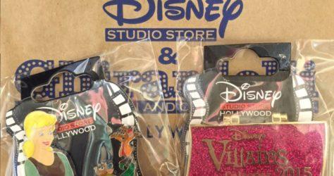 Disney Studio Store Surprise Pin Release - 2:15:15