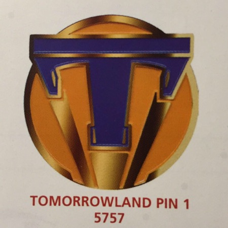 Disney Tomorrowland Pin 1
