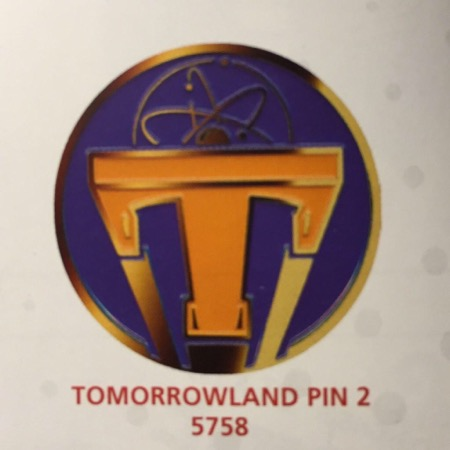 Disney Tomorrowland Pin 2