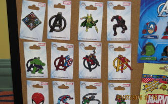Disney Marvel Pins 2015