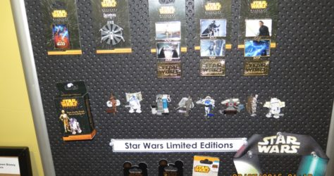 Disney Star Wars Pins 2015