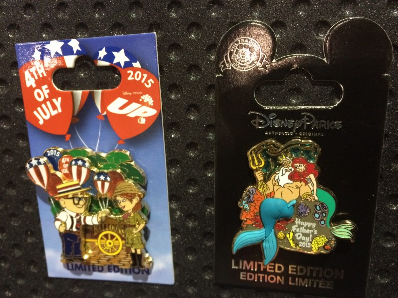 4th of July and Father's Day 2015 Pins