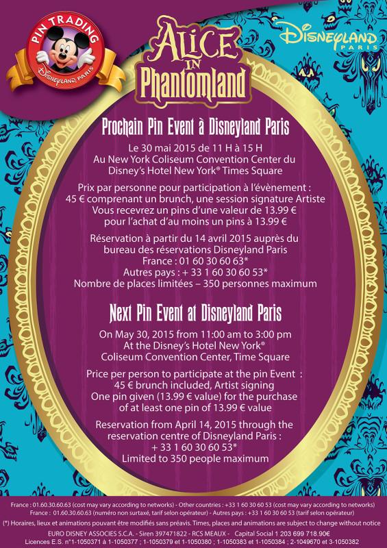 Alice in Phantomland Pin Event