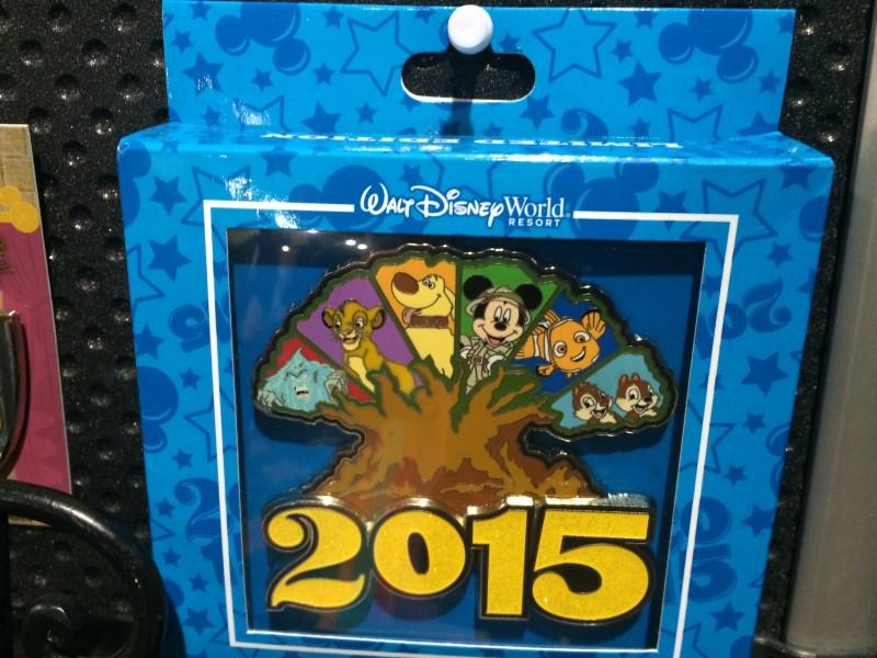 Animal Kingdom Jumbo Pin 2015