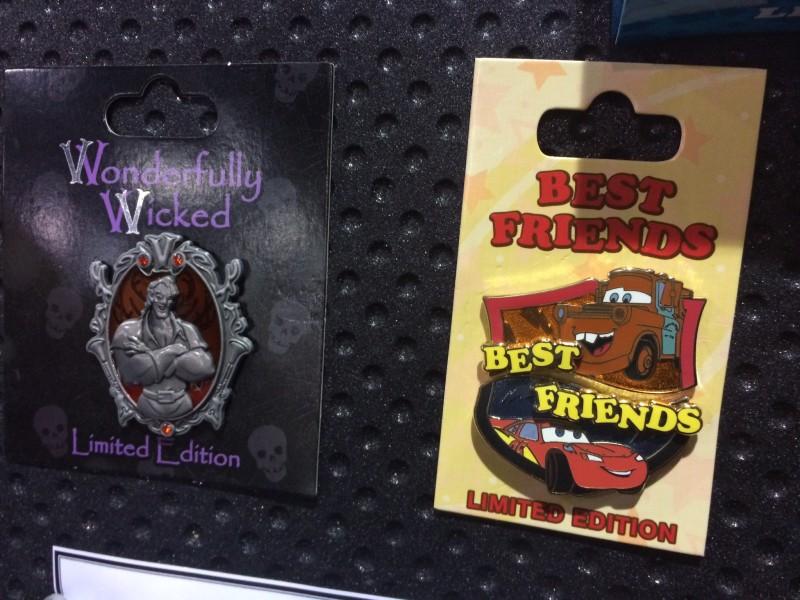 Cars Best Friends Pin