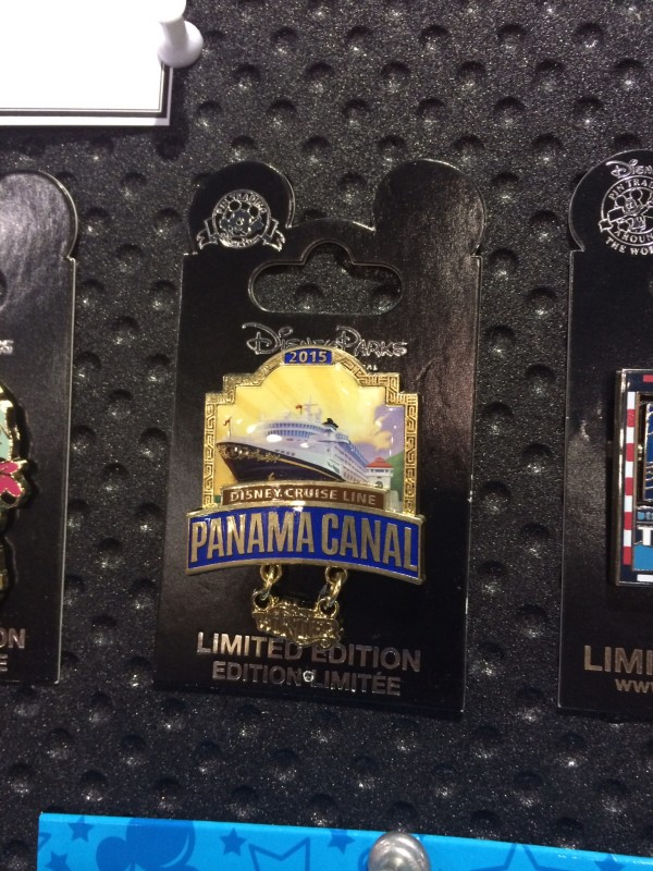 DCL Panama Canal Pin 2015