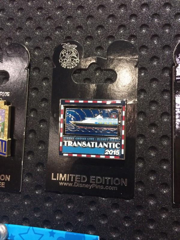 DCL Transatlantic 2015 Pin