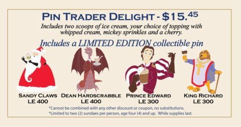 DSSH Pin Trader Delight - April 25, 2015