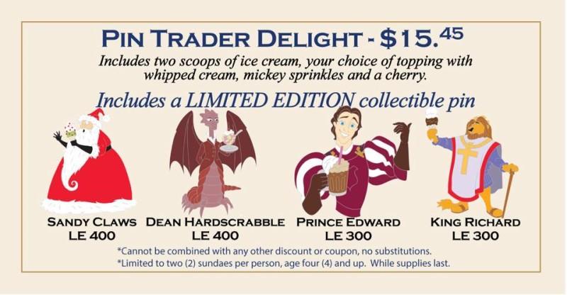 DSSH Pin Trader Delight - April 25, 2015