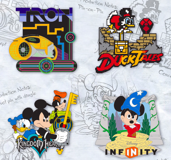 Digital Disney Boxed Pin Set - GenEARation D
