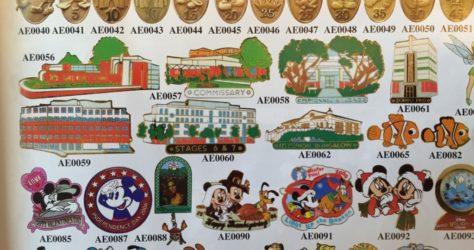 Disney Cast Member Service Pins